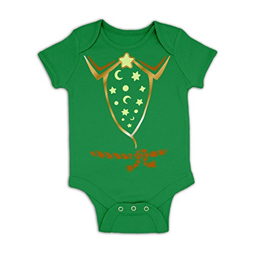 Wizard Kelly Costume (Wizard Costume Baby Grow - Kelly Green 18 - 24 Months)