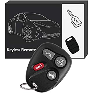 Sale Off YITAMOTOR Key Fob Replacement for 10443537 KOBLEAR1XT 4-Button Keyless Entry Remote for Chevrolet GMC Buick