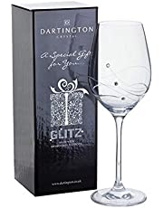 Dartington Crystal - Glitz Crystal Wijnglas - Gift Boxed