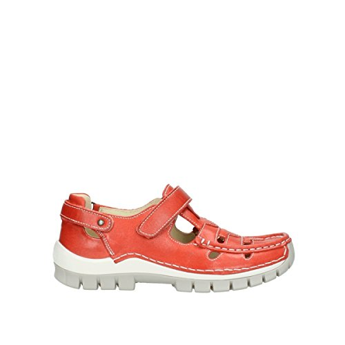 Red Wolky Leather KA 30570 Sandali Summer qqrZvt6