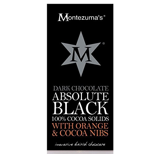 Montezuma's Dark Chocolate Absolute Black with Orange and Cocoa Nibs ()