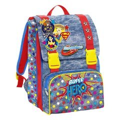 DC Super Hero Girls Girl Power Mochila sdoppiabile Big: Amazon.es: Oficina y papelería