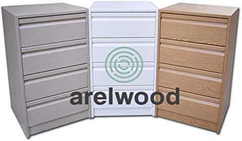 arelwood Cajonera Cerezo 2 Montada 90X40-2 Cajones. Alto 40,8 cm.