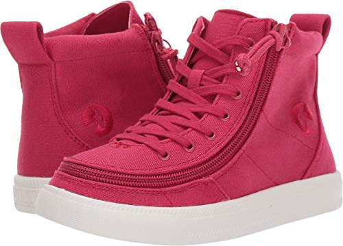 BILLY Footwear Kids Unisex Classic Lace High (Toddler/Little Kid/Big Kid) Red 2 M US Little Kid