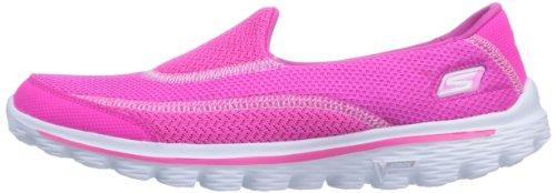 Skechers Performance Women's Go Walk 2 Slip-On Walking Shoe,Hot Pink,8 M US