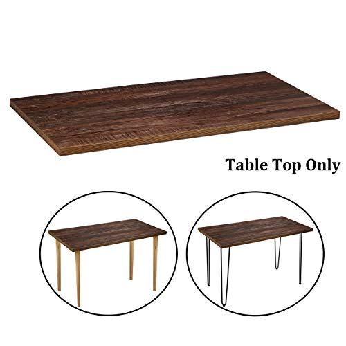 Sumerflos Home Office Desk, Workbench - 47''x 23.5'' Retro Plywood Pine Wood Table Top - with Pre-drilled Holes & Easy Assembly - Perfect for Computer Desk/Writing Desk/Dining Table (Table Top Only)