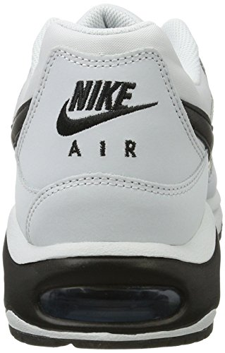 Nike Men's Nike Air Max Command Shoe, Zapatillas Deportivas para Interior para Hombre Gris (Pure Platinum/black/industrial Blue)
