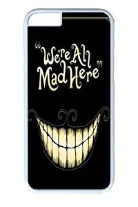Case For Ipod Touch 4 Cover inch Case and Cover -We're All Mad Here PC for Case For Ipod Touch 4 Cover and Case For Ipod Touch 4 Cover inch White