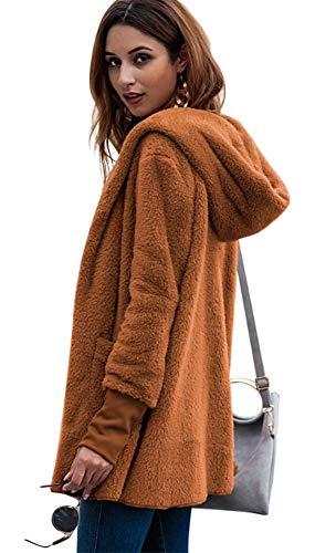 Manteau DOKER Femme Orange Large Tunique dwRxqwA
