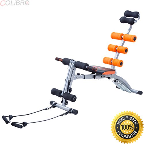 COLIBROX--5 In 1 Multi-functional Twister AB Rocket Abdominal Trainer Core Trainer Bench. ab trainer electric. best waist trainer for weight loss.electrical-stimulation abdominal belts.ab trainer pro. by COLIBROX