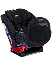 Britax One4Life ClickTight All-In-One Car Seat, 10 Years of Use, Infant, Convertible, Booster, 5 to 120 Pounds, Safewash Fabric, Eclipse Black