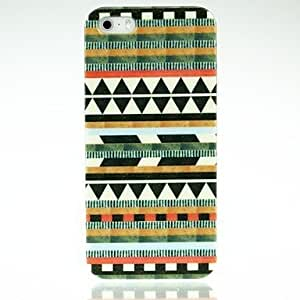 LX Aztec Diamond Pattern PC Case for iPhone 5/5S Cover Cases