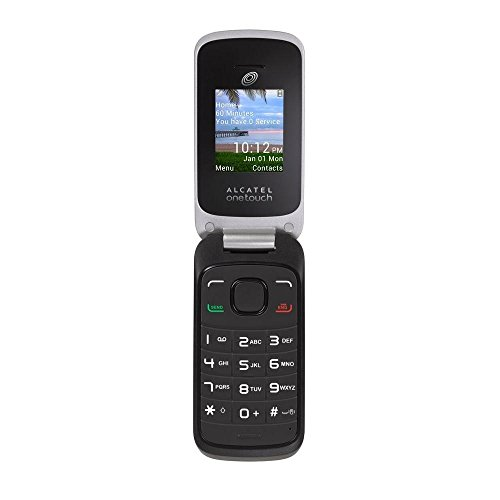 tracfone-no-contract-double-minutes-alcatel-onetouch-a206g-flip-cell-phone