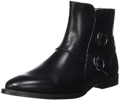 Marc Mujer 70714156001113 Flat Heel O'Polo Schwarz Black Botas para Bootie r0wrP75xIq