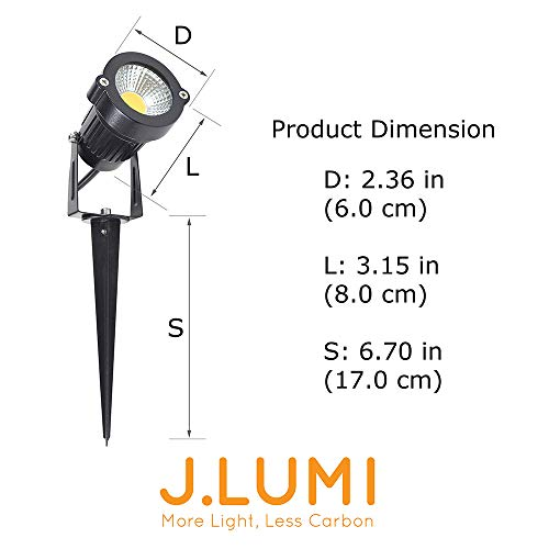 j lumi led outdoor spotlight 5w  110