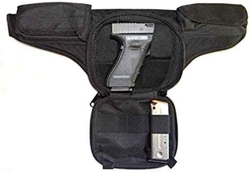 DTOM Law Enforcement Concealed Carry Fanny Pack Cordura Nylon