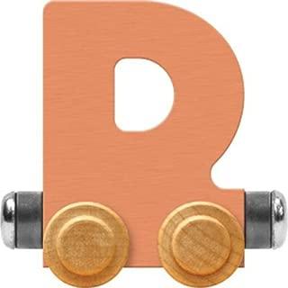 product image for Maple Landmark NameTrain Pastel Letter Car D - Made in USA (Orange)
