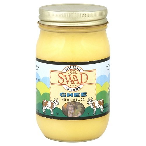 Swad Butter Ghee (Clarified Butter), 16.0 Ounce (Pack of 12)