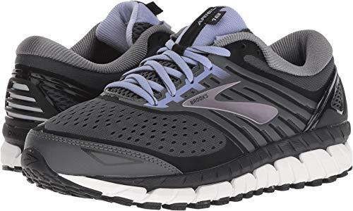 Running Motion Women Shoes Control (Brooks Women's Ariel '18 Ebony/Black/Thistle 11 B US)