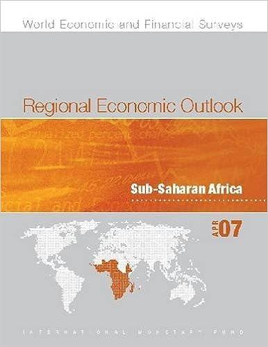 Regional Economic Outlook: Sub-Saharan Africa, October 2007 by Internation International Monetary Fund (2007-10-30)