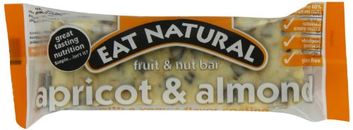 Eat Natural Almond & Apricot Bar with Yogurt Coating,1.76 Ounce Bar, 12-Count Box (Apricot Yogurt Bars)