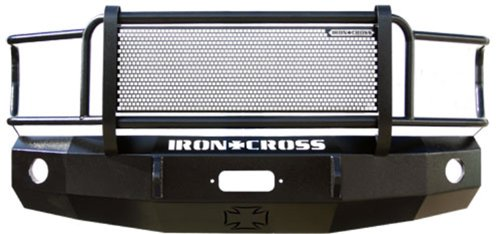 Ford Cross F150 Iron - Iron Cross Automotive 22-415-04 Heavy Duty Front Bumper with Push Bar for Ford F-150