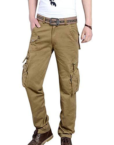 Kaki Confortable Poches Sports Plusieurs Combat Automne Hommes Battercake Décontracté Cargo Travail Pants Printemps 7AnHxOq4Uw