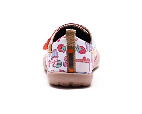 UIN meilleur dessert Chaussures de cuir comfortable rose pour enfant (adolescent)