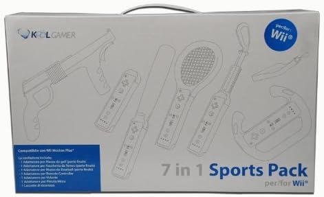 WII sports pack 7in1 Bianco [Importación italiana]: Amazon.es: Videojuegos