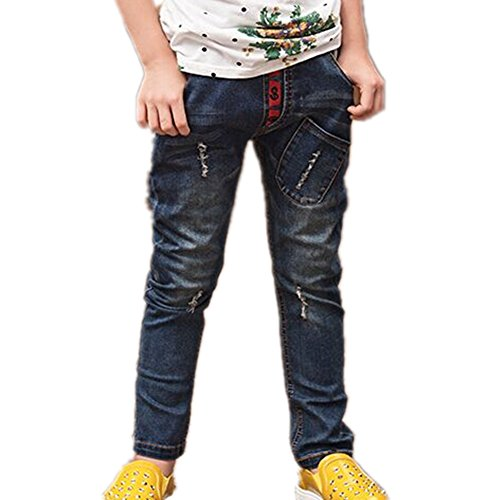 BEI Beibei Kids Big Boys Jeans Children Spring Casual Pants For Boys 3-14 Years - 14T