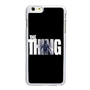 Alta resolución C6O55 The Thing Póster H1W2NV funda iPhone 6 Plus 5.5 pulgadas funda caja del teléfono celular cubren CZ5FKS2FF blanco