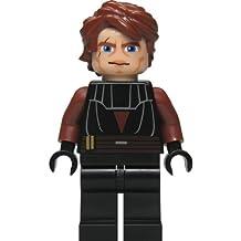 LEGO Star Wars: Anakin Skywalker (Clone) Minifigure with Blue Lightsaber