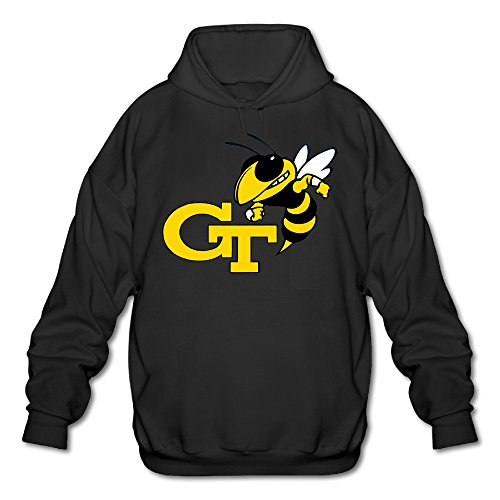 PTR Men's Sweater - Georgia Tech Black Size L