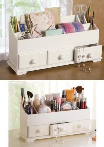 Storage Organizer Dresser Bathroom Countertop