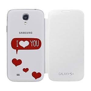 Samsung ENMSVILY-EF-FI950BWEGWW mobile phone case - Fundas para teléfonos móviles Rojo, Color blanco