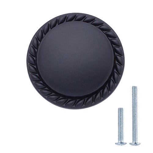 - AmazonBasics Round Braided Cabinet Knob, 1.14