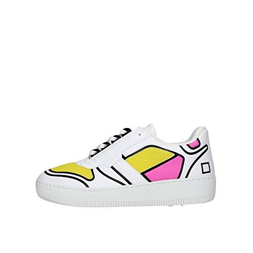Sneakers Low t Bianco Donna 8 Bassa a Slam D e nOCw1ZqYZH