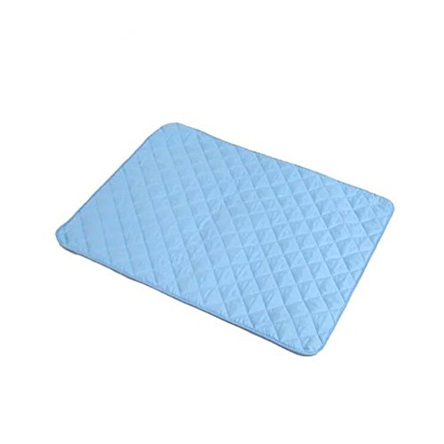 Fairy Baby Waterproof Reusable Baby Changing Pad Liners,Blue(30X50CM/11.8