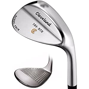 Cleveland Golf Men's 588 RTX Satin Chrome Standard Bounce Wedge (Right Hand, Steel, Wedge, 54 Degree)