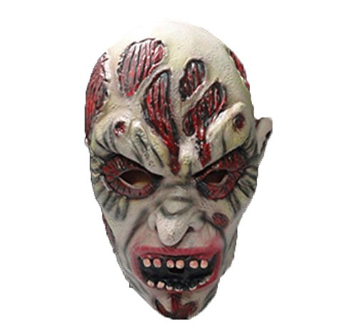 Uleade Halloween Mask Scary Costume Ghost Cosplay Party Rotten Gums (Purge Costumes Ideas)