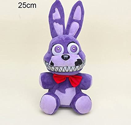 FIVE NIGHTS AT FREDDY/'S NIGHTMARE BONNIE PLUSH TOY EXCLUSIVE
