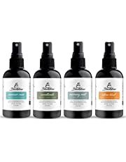 Blackstone All Natural Odor Eliminating Air Freshener Spray, Pack of 4 x 118mL, Canadian Made