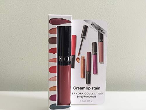 SEPHORA COLLECTION Cream Lip Stain Liquid Lipstick Mini, 84 Rose Redux - new shade