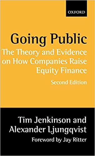 The Theory and Evidence on How Companies Raise Equity Finance Going Public