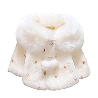 Amazon.com: Soly Tech Infant Baby Girls Faux Fur Winter