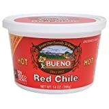 Red Chile Puree, Hot (6) 14oz tubs