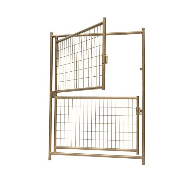 1.7m Height Aztec Gold Double Door Pet Pen Dog Enclosure Run Kennel | 4 Panels | Each Panel 1.2mx1.2mx1.7m Click on image for further info. 2