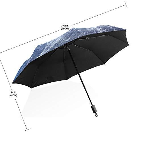 Paraguas Balón de fútbol con gotas de agua 3 pliegues Ligero Anti ...