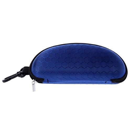 Travel Zipper Sunglasses Case With Hanging Hook Hard Sports Glasses Case Holder