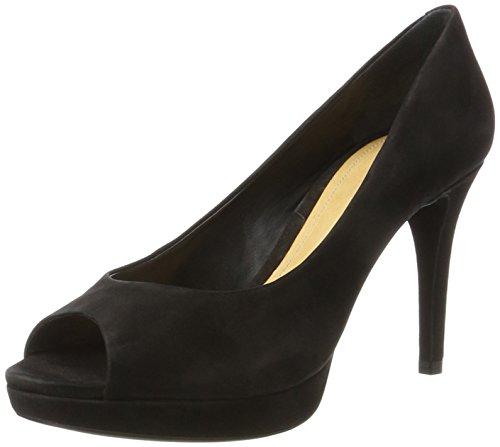 Schutz WoMen S2-00660001 Open Toe Heels Black (Black Black)